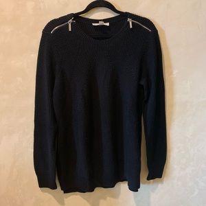 MICHAEL KORS Black Sweater Size L